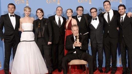 Golden Globes 2014: Winners