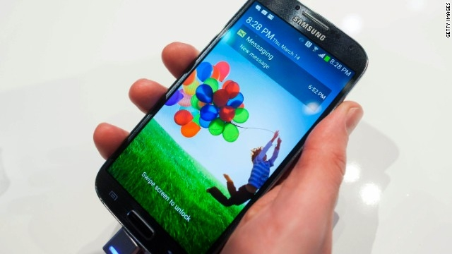 Samsung: Galaxy S5 out by April, may scan your eyes