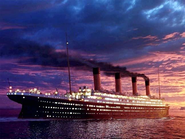 New Titanic theme park in China