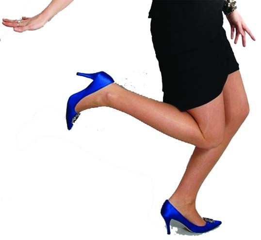 Tips to get used to new high heels