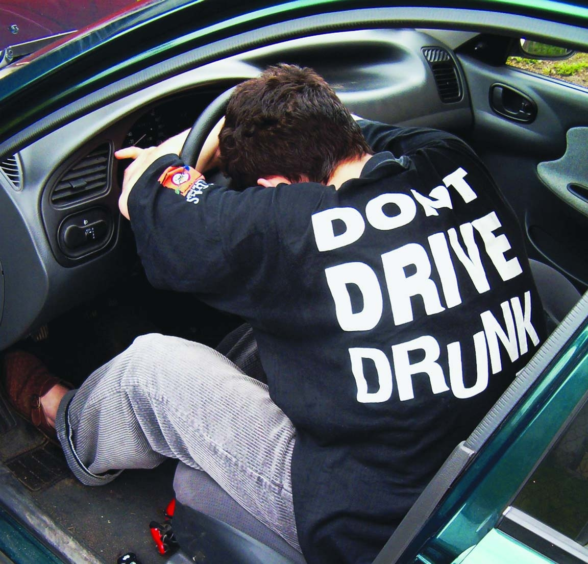 Little alcohol too, dangerous while driving