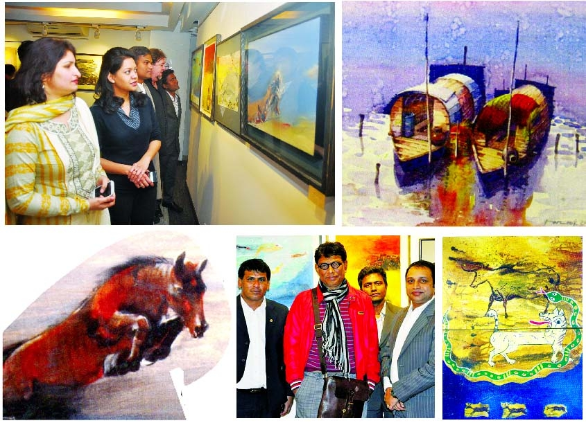 Group art exhibition at Bronia art gallery