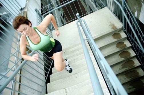 Benefits of climbing the stairs