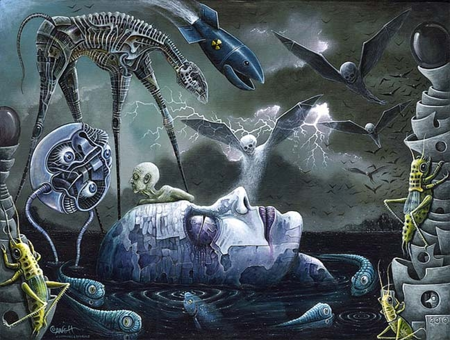 Nightmares more terrorising than bad dreams
