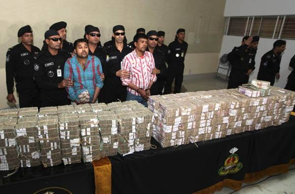 Two `bank robbers` nabbed