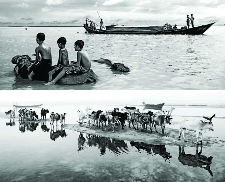 Sumon Yusuf's solo photo exhibition 'Life & Struggle of Padma'