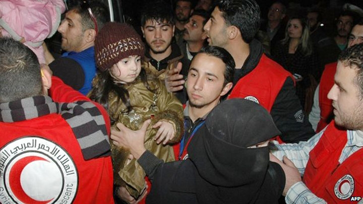 Ceasefire extends for three days Hope for more evacuations from Homs