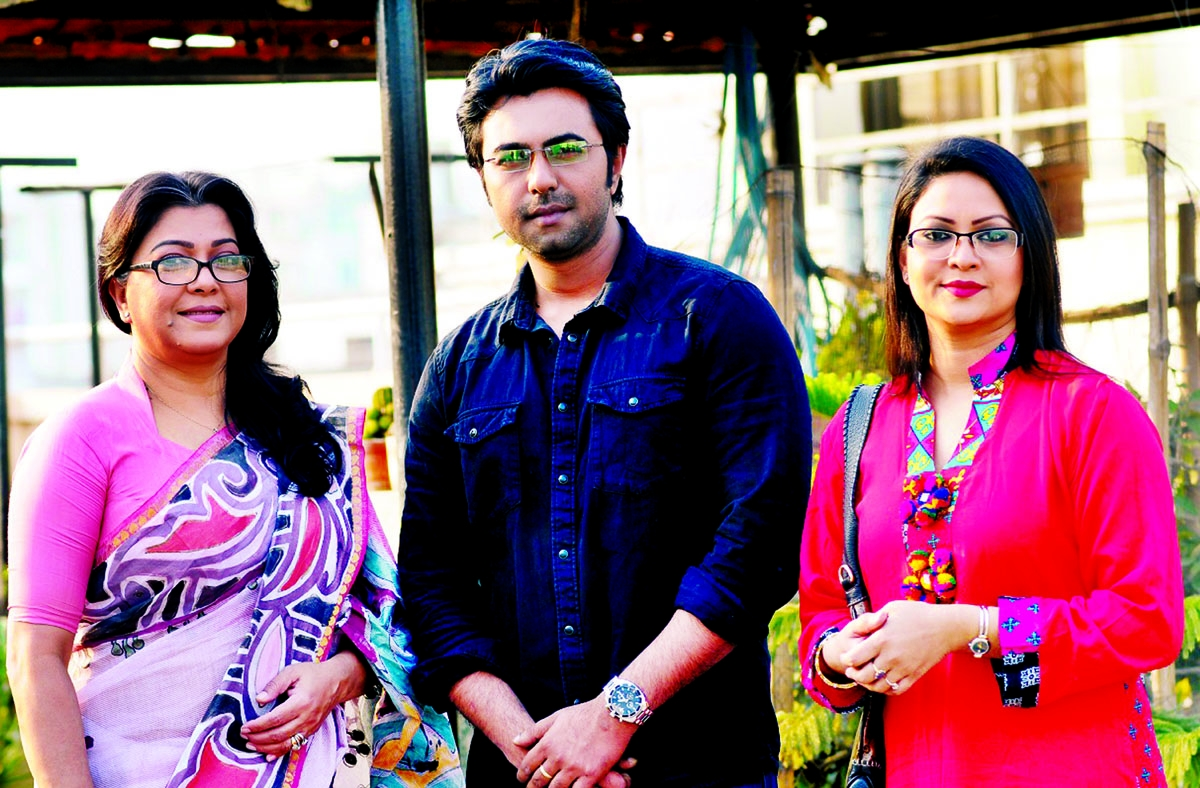 Diti-Apurbo-Richi in   Independence Day's play