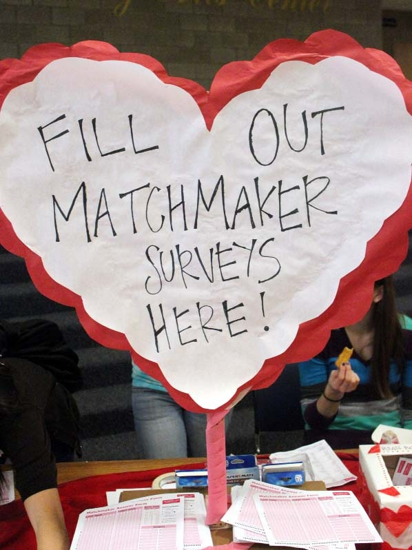 Valentine`s Day matchmaking