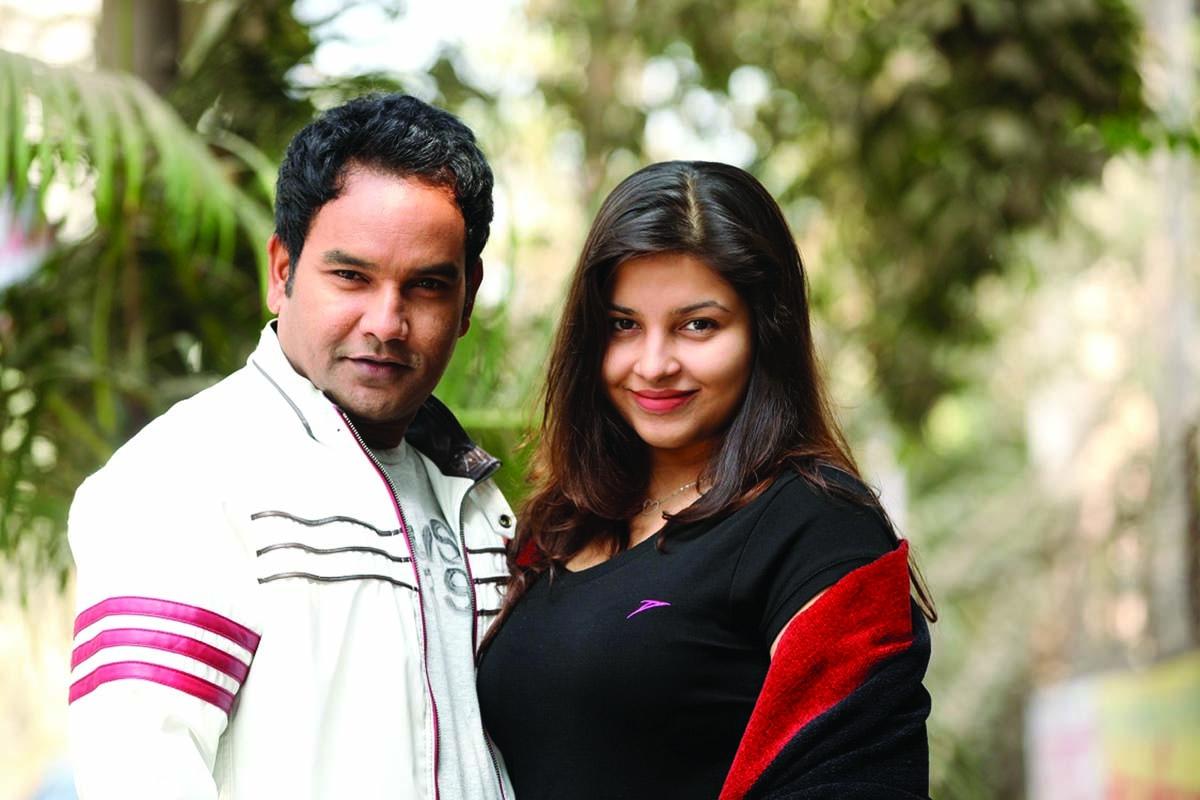 Mizan-Jenny pair in TV play Rode Ashbe Bole