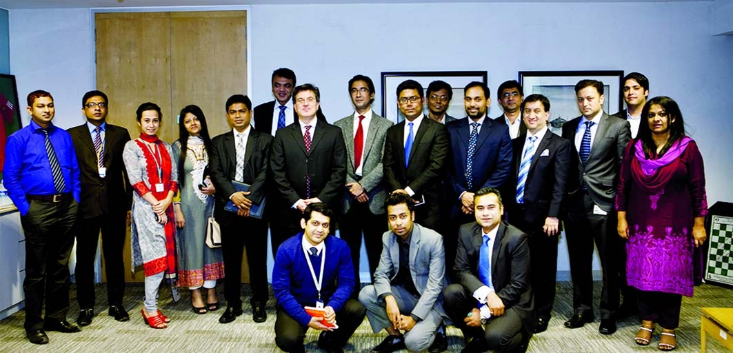 Standard Chartered Bank organised a roundtable discussion session with select clients representing a variety of industries on