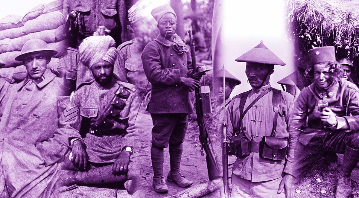 Photo exhibition 'War and Colonies, 1914-1918' at AFD