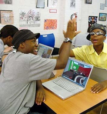 Virtual world makes learning easier!