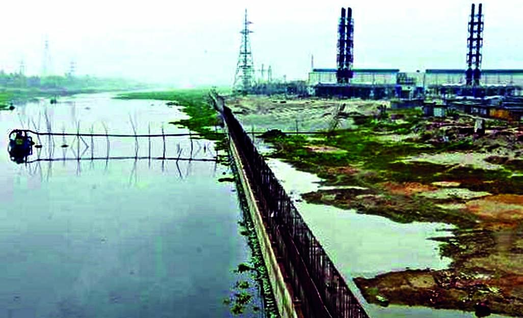 Status quo on Buriganga power plant construction