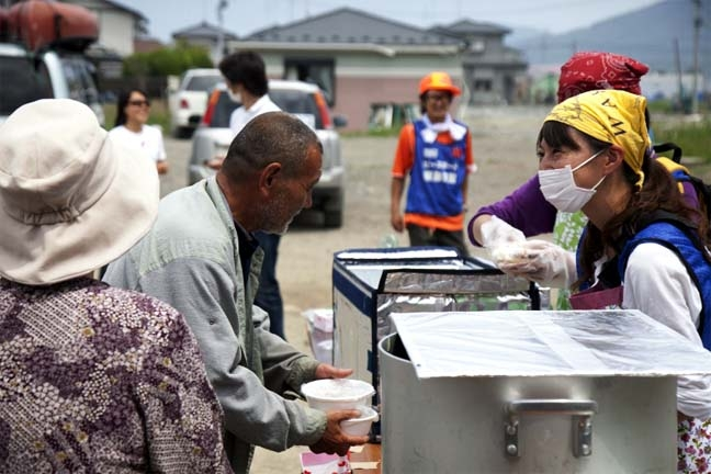 Japanese ways to deal with disasters