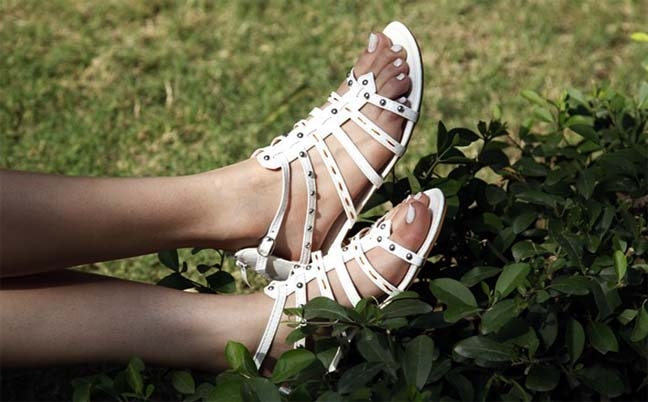 Shoes play a big part in making