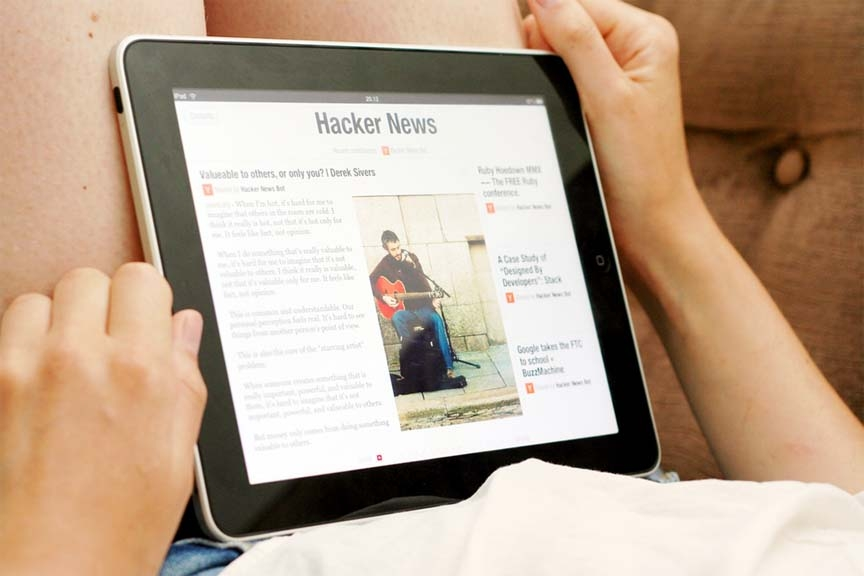 Online news gets momentum in USA