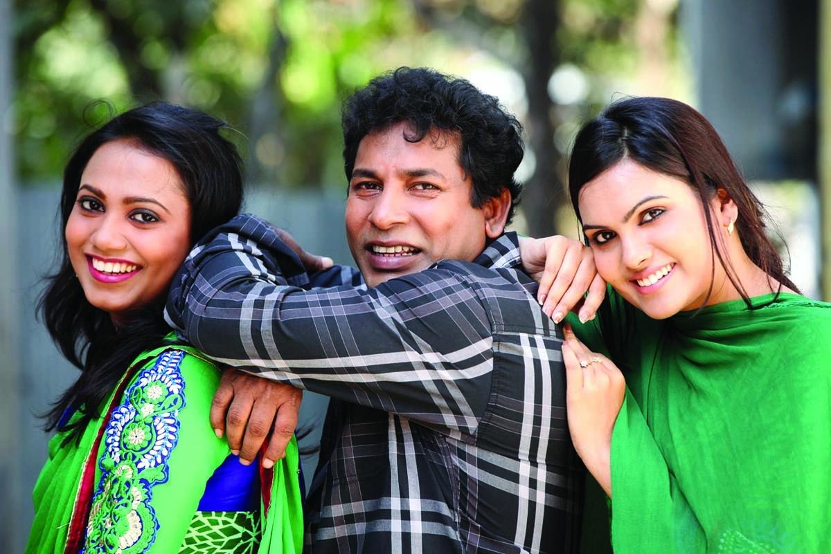 Jui-Mosharraf-Hasin in serial Tini Ashben