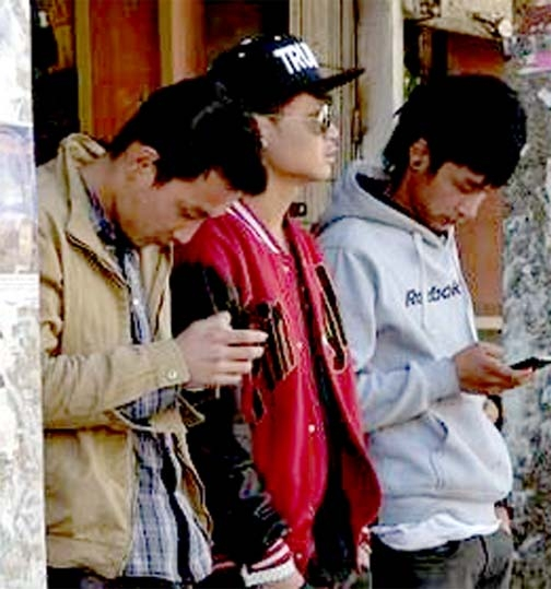 Cell phones bring Bhutan into modern age