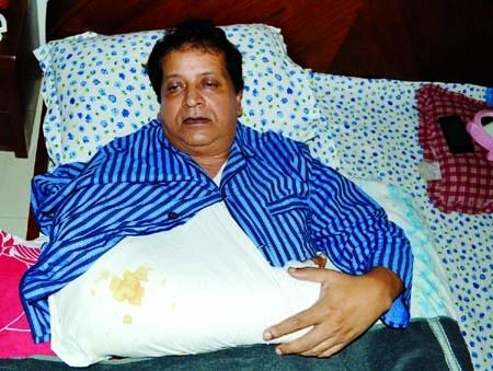 Manos Bandyopadhyay critically injured