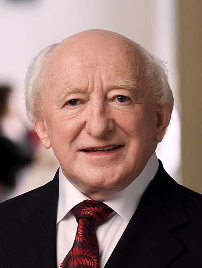 Irish President Michael D Higgins in historic UK visit