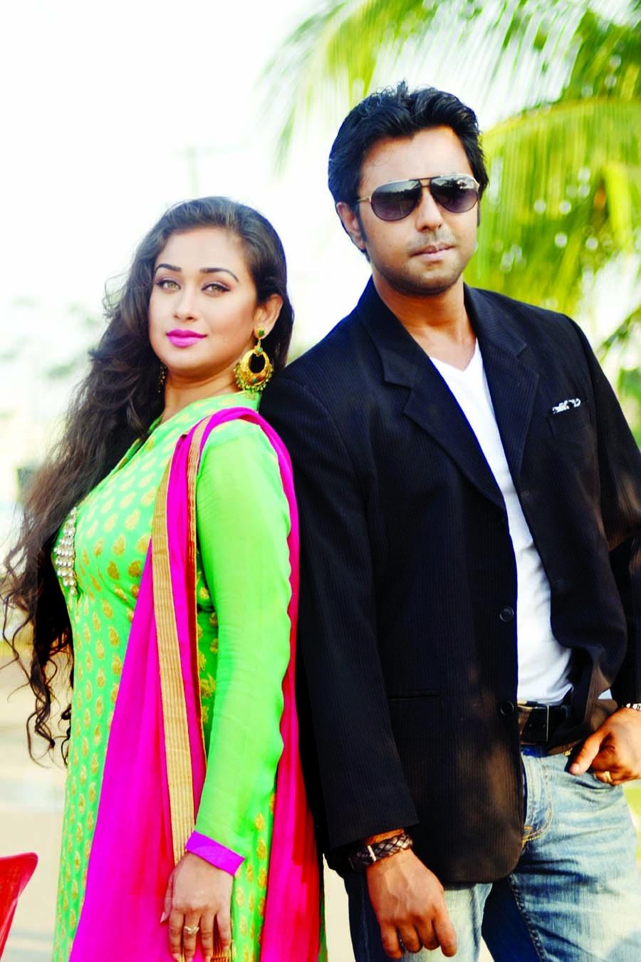 Romana-Apurbo in play Koto Dur-e Jabe Bondhu