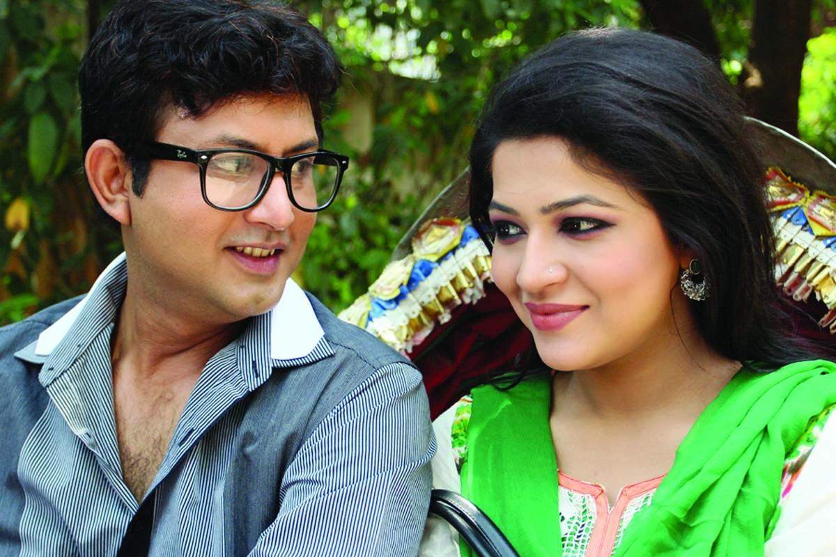 Amin Khan- Badhon juti for first time