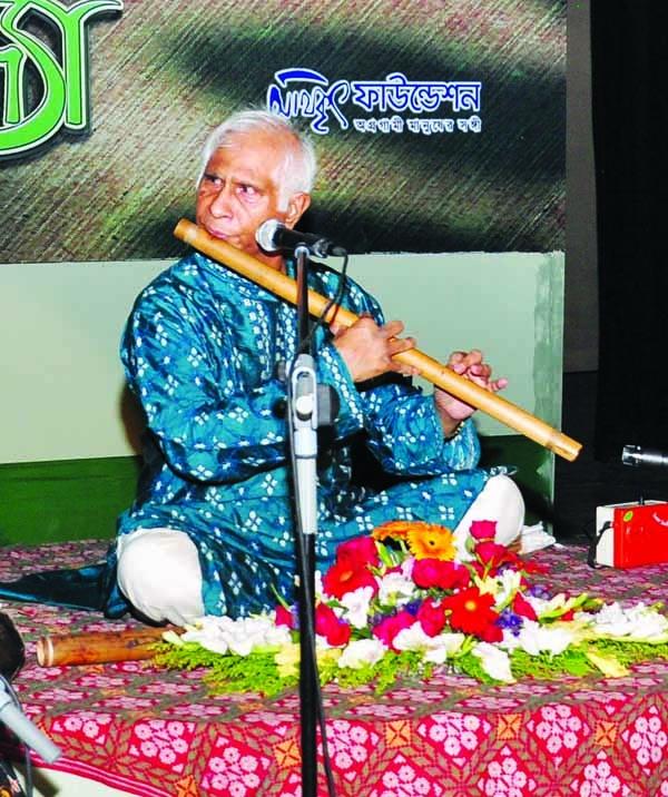 Magical flute evening at Shilpakala Academy