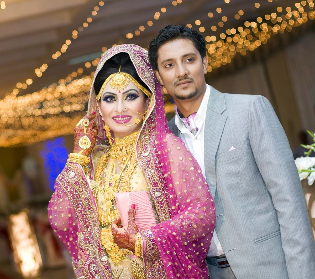 Farzana Chhoby's post-wedding reception