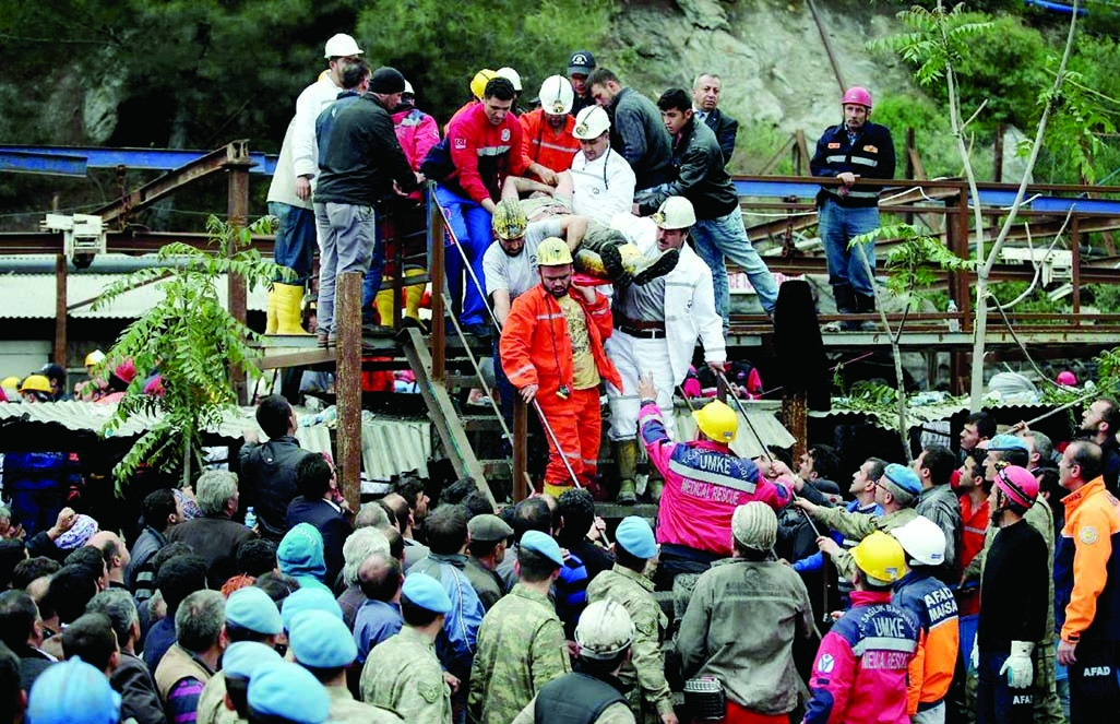 238 killed in Turkey coal mine disaster