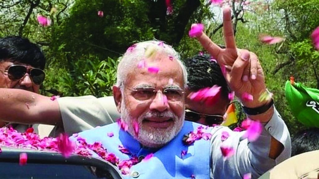 Varanasi welcomes Narendra Modi