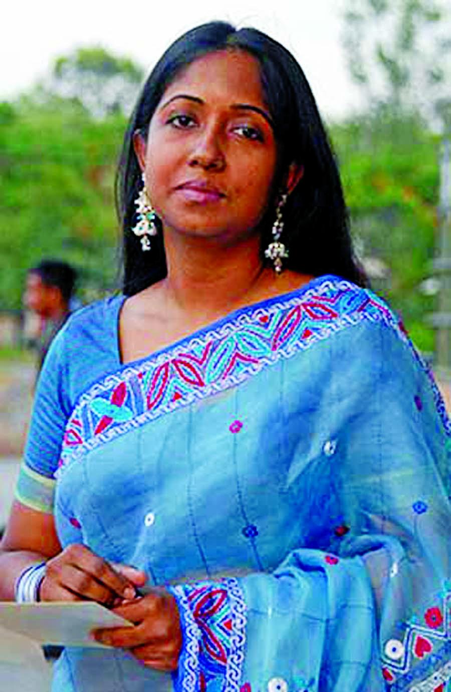 Rokeya Prachi making TV serial