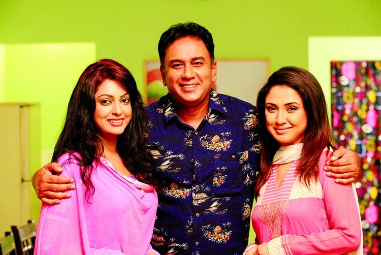 Nipun-Zahid Hasan-Sonia together in Eid serial