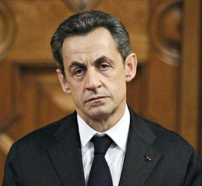 French ex-President Sarkozy held for questioning