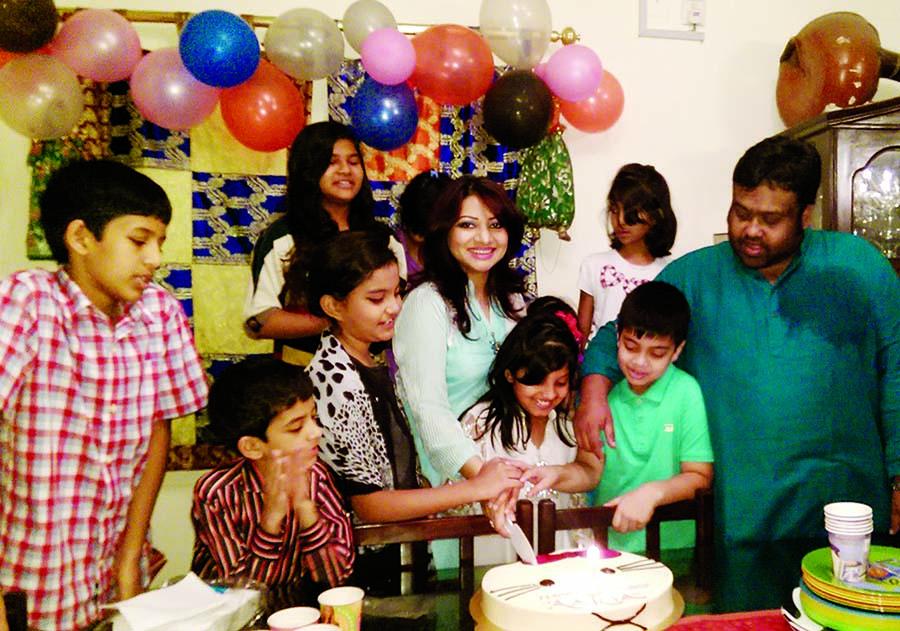 Ankhi Alamgir celebrates daughter's birthday