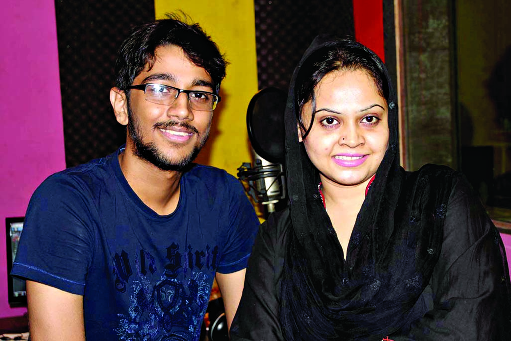 Pritom Hasan-Nirjhor  for first time together