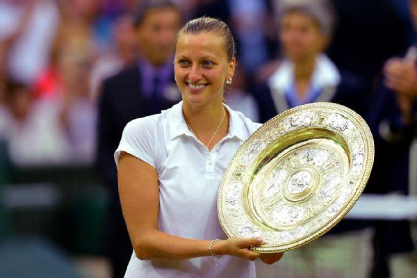 Kvitova wins Wimbledon title