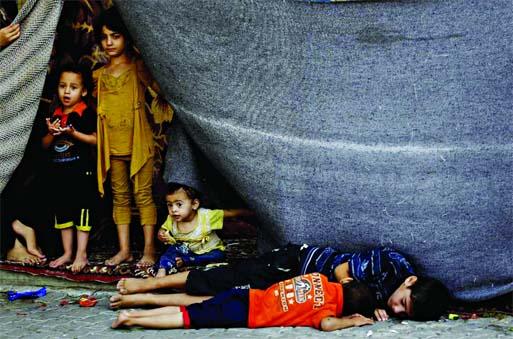 Israeli action amounts to war crimes