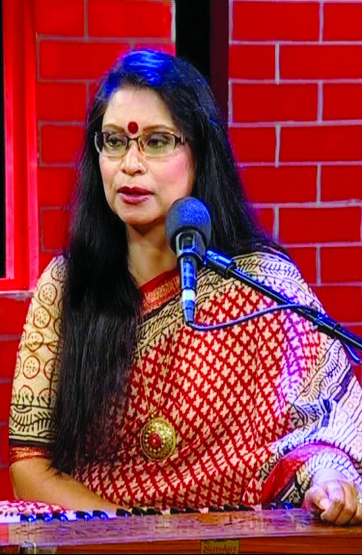 Rezwana Chowdhury Bonnya at Music Club tonight