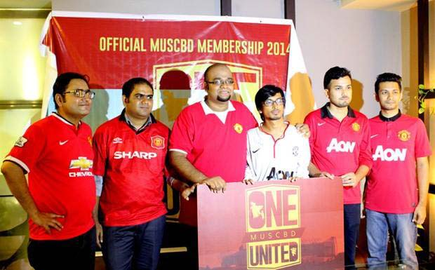 Manchester United Supporters Club Bangladesh (MUSCBD), the