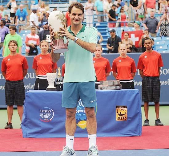 Federer beats Ferrer to claim Cincinnati title
