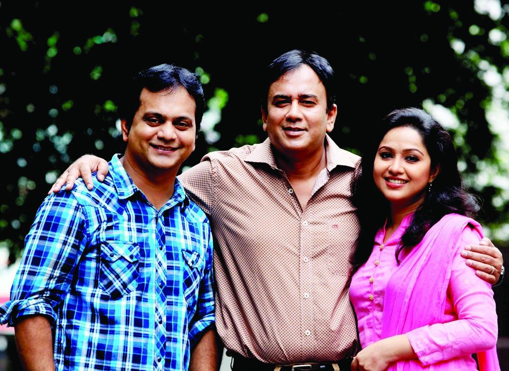 Mir Sabbir-Zahid Hasan-Nadia in Alal-Dulal sequel play