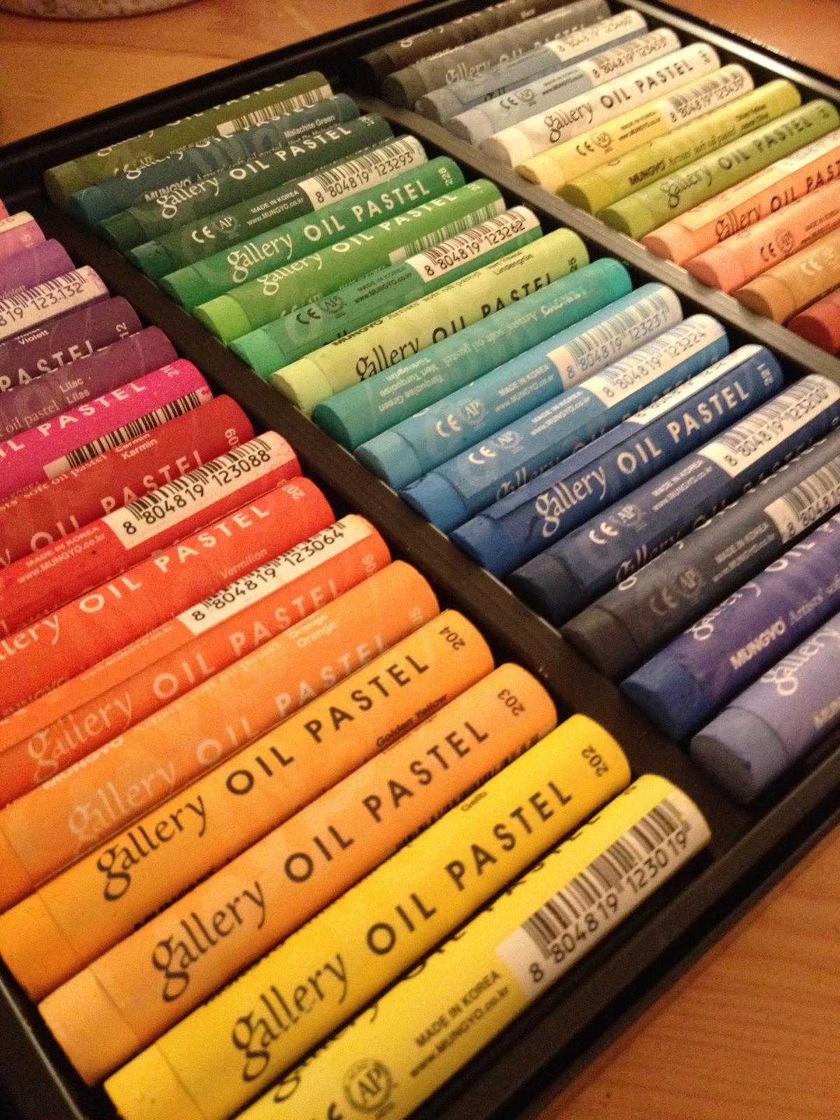 Crayon as a medium History and development