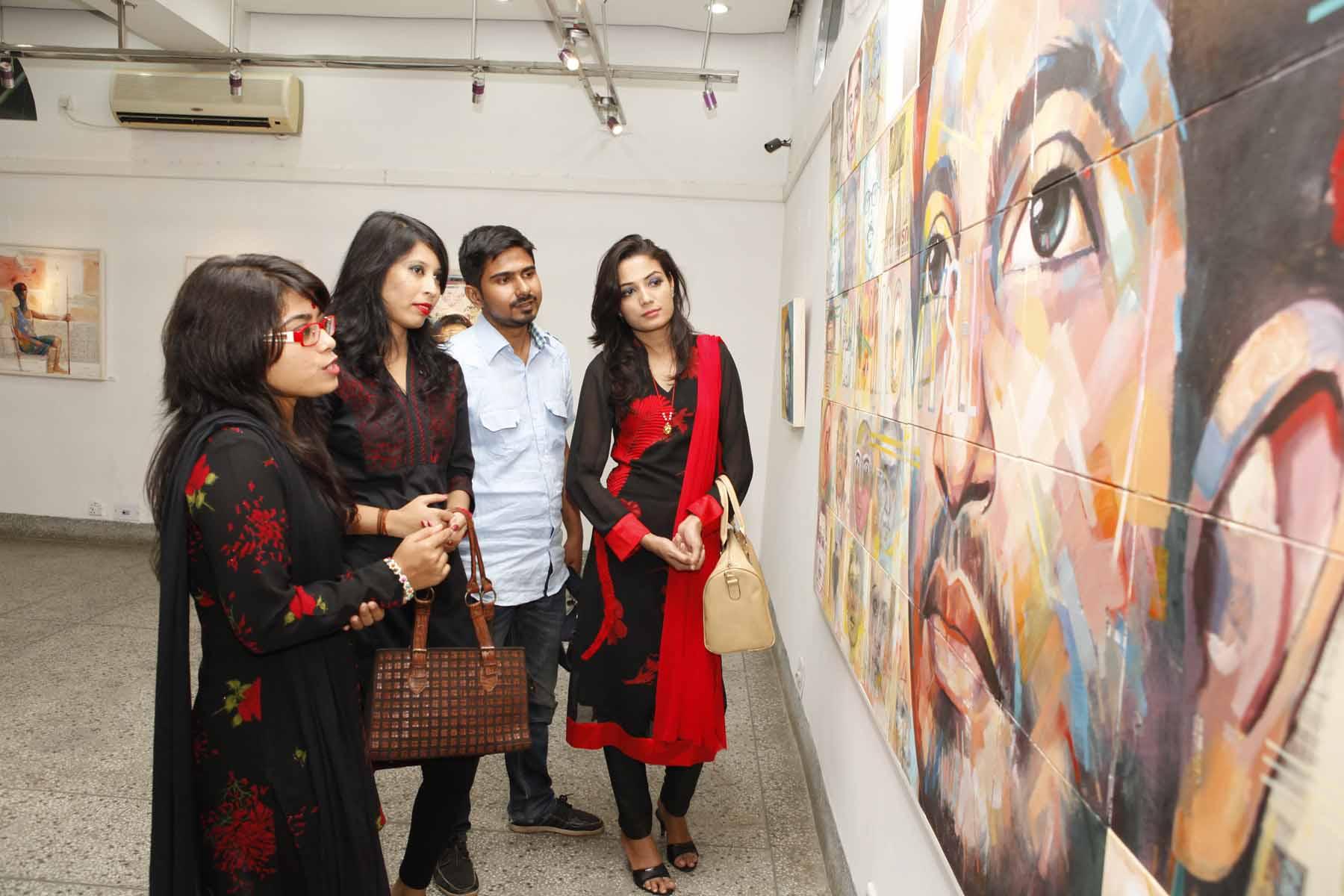 Monjur Rashid's Searching Myself begins at AFD