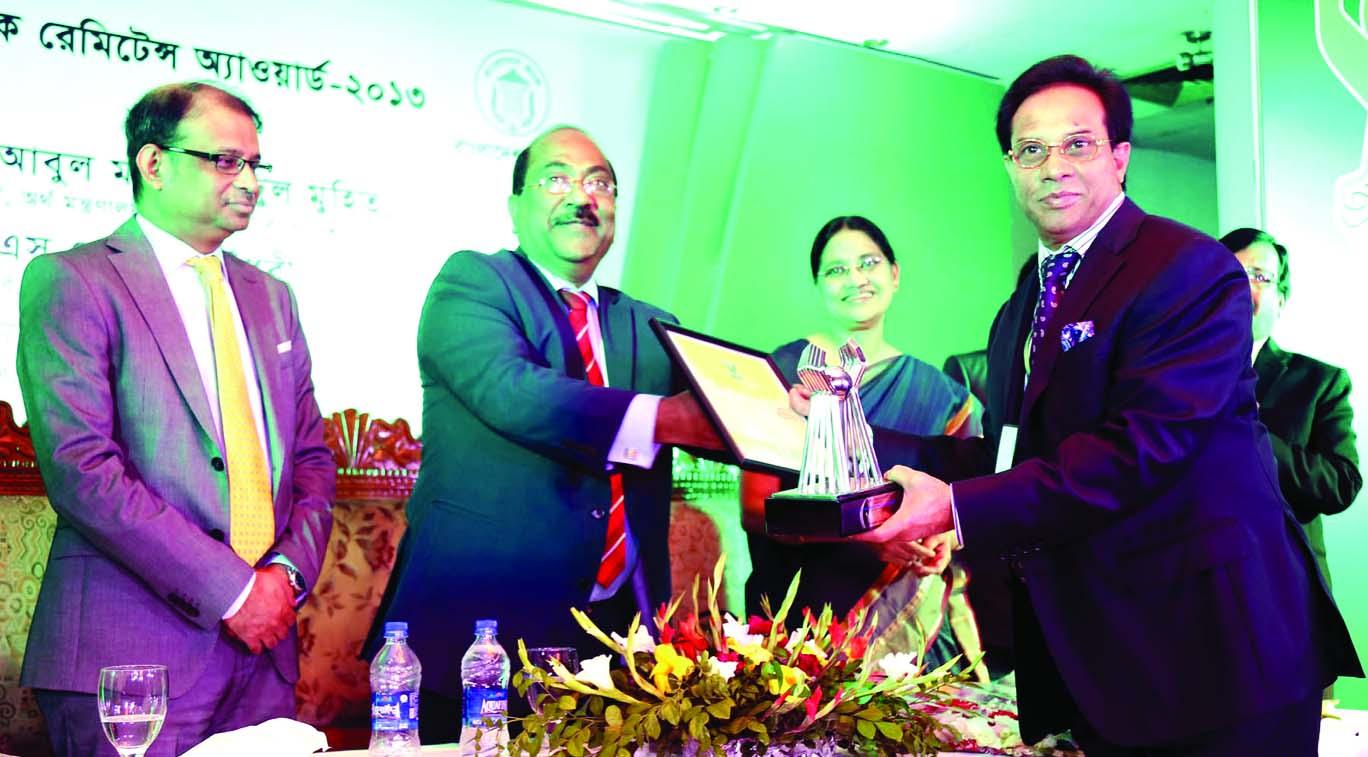 Bangladesh Bank Deputy Governor SK Sur Chowdhury, handing over