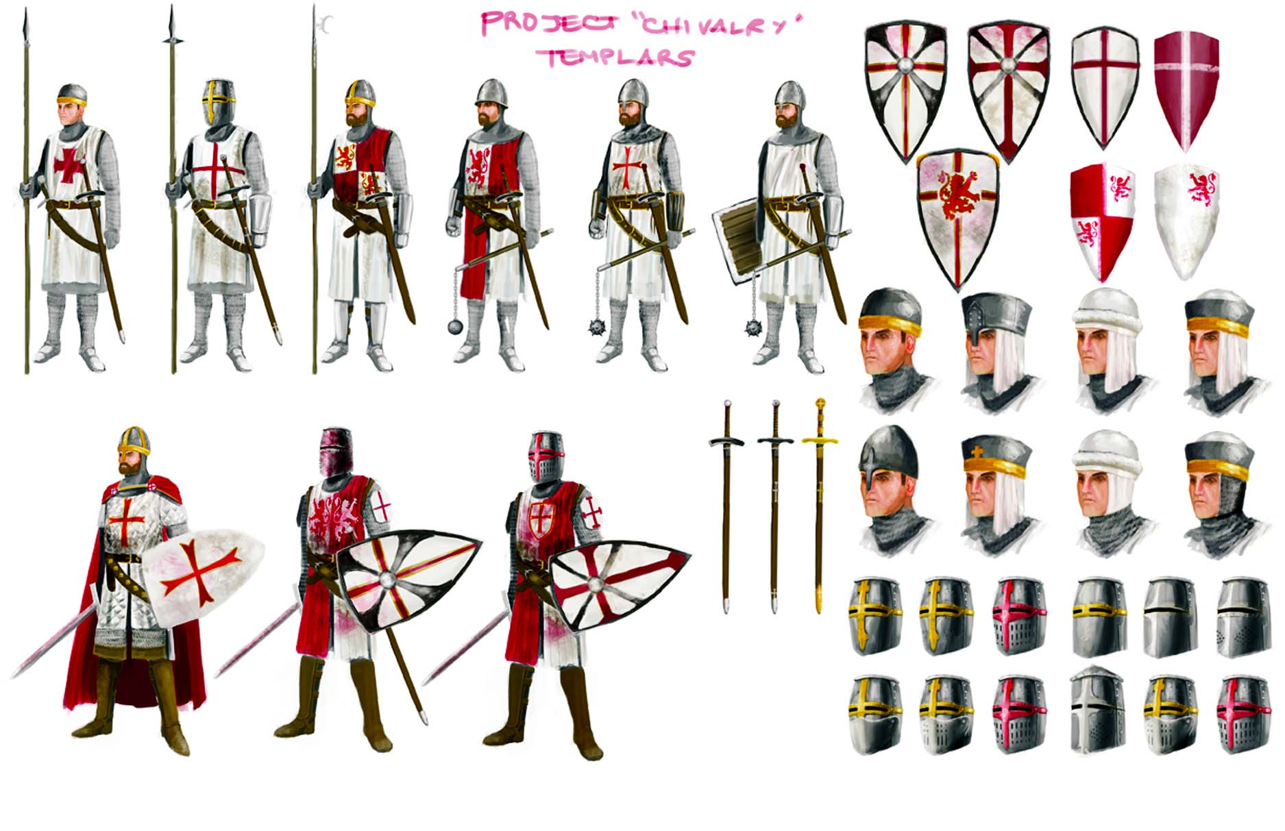 a comparison of the similarities of medieval knights and modern soldiers By mohammed abbasi the other soldiers tried to protect their own knights that was one main difference between the medieval knights and the samurai.