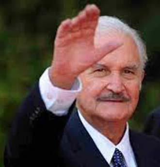 Novelist Carlos Fuentes