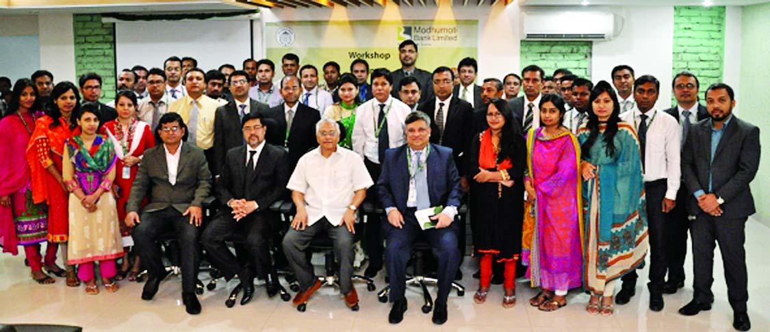 Md Mizanur Rahman, Managing Director of Modhumoti Bank Ltd, poses ...
