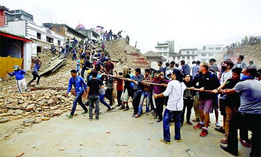 2300 killed in Nepal quake