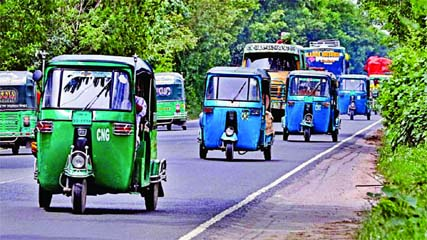 3 wheelers allowed on highways for 2 hours
